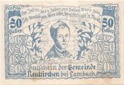 50 Heller (Neukirchen bei Lambach) -  obverse