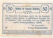 50 Heller (Neukirchen bei Lambach) -  reverse