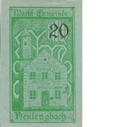 20 Heller (Neulengbach) -  reverse