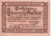 20 Heller (Neumarkt a. d. Ybbs) – obverse