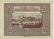 50 Heller (Neumarkt a. d. Ybbs) – reverse