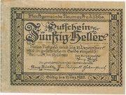 50 Heller (Neumarkt a. d. Ybbs) – obverse