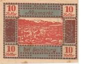10 Heller (Neumarkt bei Salzburg) – obverse