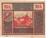 10 Heller (Neumarkt bei Salzburg) – reverse