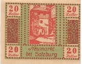20 Heller (Neumarkt bei Salzburg) -  obverse