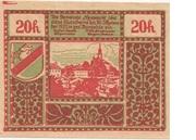 20 Heller (Neumarkt bei Salzburg) -  reverse