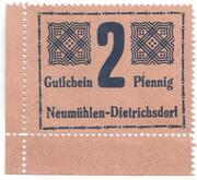 2 Pfennig – obverse