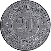 20 Pfennig - Neumünster – obverse