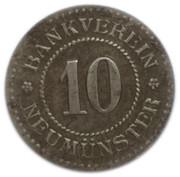 10 Pfennig - Neumünster – obverse
