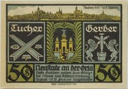 50 Pfennig (History Series) – obverse