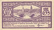 0.75 Mark (Verlag Neustädter Kreisbote) – obverse