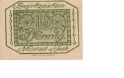 10 Pfennig (Bezirkssparkasse) -  obverse