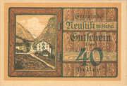 40 Heller (Neustift in Stubai) -  obverse