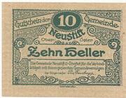 10 Heller (Neustift) -  obverse