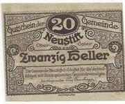 20 Heller (Neustift) -  obverse