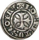 Denier - Robert de Dampierre (1271-1296) – obverse