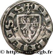 Denier - Robert de Dampierre (1271-1296) – reverse