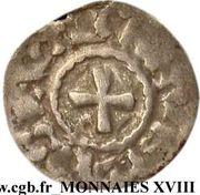 1 Obole - Monnayage immobilisé au nom de Louis IV d'Outremer – reverse