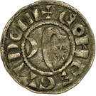 Denier - Gui (1168-1175) – obverse