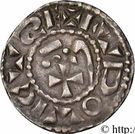 Denier - Monnayage immobilisé au nom de Louis IV d'Outremer – obverse