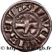 Denier - Hervé de Donzy (1199-1223) – reverse