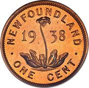 1 Cent - George VI -  reverse