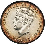 5 Cents - George VI – obverse