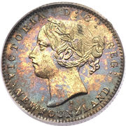 10 Cents - Victoria – obverse