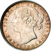 20 Cents - Victoria – obverse