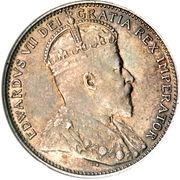 20 Cents - Edward VII – obverse