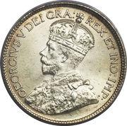 25 Cents - George V – obverse