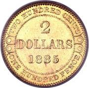2 Dollars - Victoria – reverse