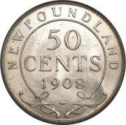 50 Cents - Edward VII -  reverse