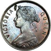 1 Cent - Victoria (Pattern) – obverse
