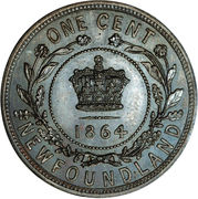1 Cent - Victoria (Pattern) – reverse