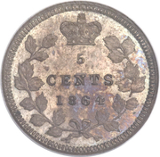 5 Cents - Victoria (Pattern) – reverse