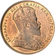 1 Cent - Edward VII – obverse