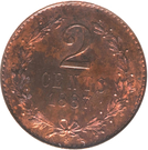 2 Centavos (Pattern strike) – reverse