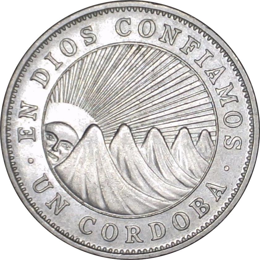 1 Cordoba Nicaragua Numista