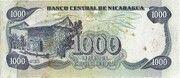 1 000 Cordobas – reverse