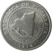 10 Centavos (FAO) – obverse