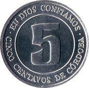 5 Centavos (FAO) – reverse