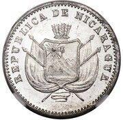 1 Centavo (Aluminium Piedfort) – obverse
