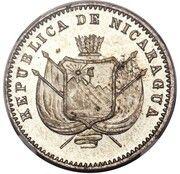 1 Centavo (Copper-Nickel Piedfort) – obverse