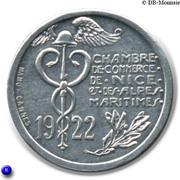 10 Centimes (Nice & Alpes Maritimes) – obverse