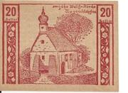 20 Heller (Niederneukirchen) – reverse