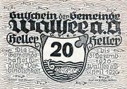 20 Heller (Wallsee) -  obverse