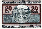 20 Heller (Weissenkirchen) -  obverse