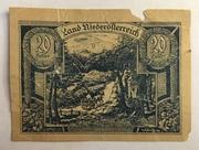 20 Heller (Niederösterreich) -  obverse