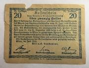 20 Heller (Niederösterreich) -  reverse